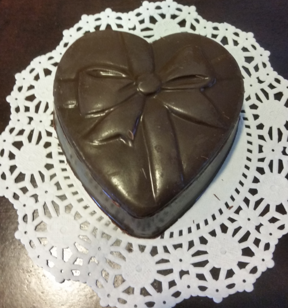 Chocolate Heart Box - Medium